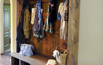 Corral Your Gear with a Makeshift Mudroom
