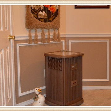 Two Tone Wainscot and Chair Rail