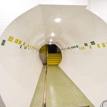Ultimate Doomsday Bunker Hallway