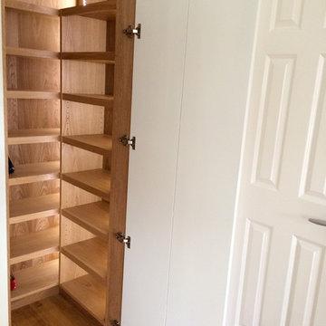 Under stairs shoe storage