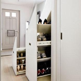 Aménagement d'un couloir craftsman.