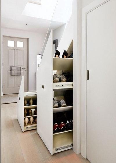 Arts & Crafts Hallway & Landing by Paramount Bespoke Furniture
