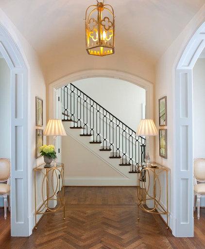 Traditional Hall by Ellen Grasso & Sons, LLC