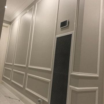 Uplifting Wall Panelling