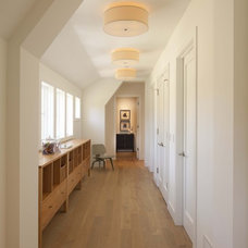 Contemporary Hall by Charlie & Co. Design, Ltd