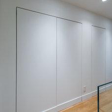 Modern Hall by Leib Designs