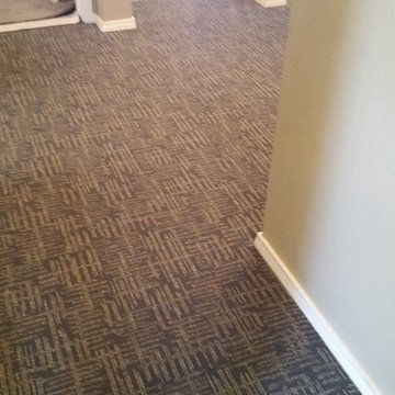 Upstairs Carpet Project