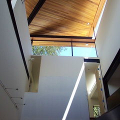 contemporary hall by Winder Gibson Architects