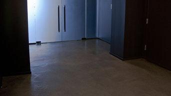 Vera Wang Bridal Decorative Concrete Flooring