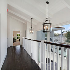 Beach Style Hall by Home Staging by Carol Roemmer
