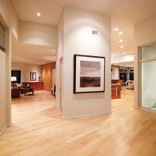 Modern Hall by HartmanBaldwin Design/Build