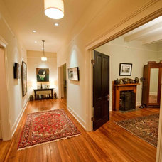 Traditional Hall by Heirloom Design Build