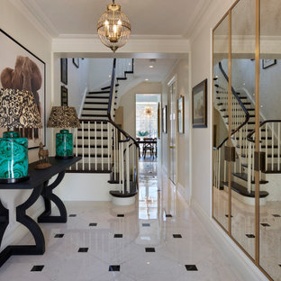 Victorian townhouse entrance hall