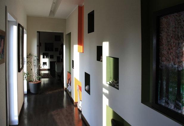 Modern Hall by OPERASTUDIO