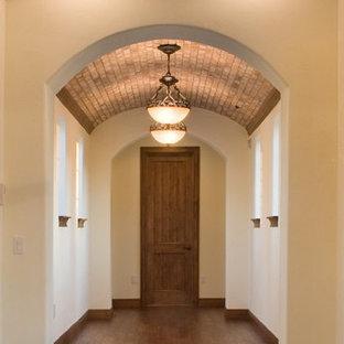 Hallway - mediterranean hallway idea in Orlando