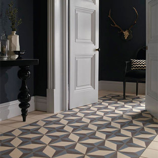 Inspiration for a mediterranean hallway remodel in Other