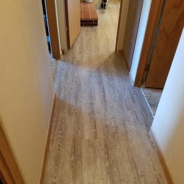 Vinyl Planked Floor
