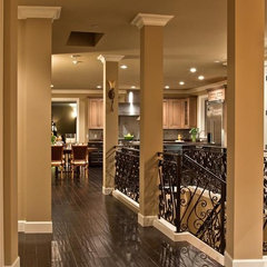 mediterranean hall by Lakeville Homes