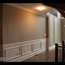 Traditional Hall by Expert Crown Moulding
