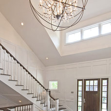 Traditional Hall by EB Designs