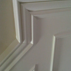 Traditional Hall Wainscotting detail
