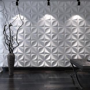 Modern inredning av en hall
