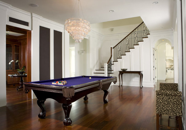 Traditional Hall by Max Crosby Construction