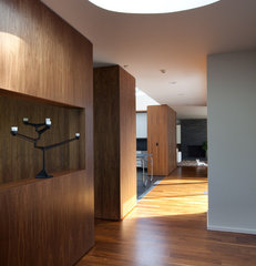 modern hall by SchappacherWhite Ltd.