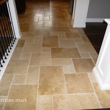 Traditional Hall by Travertine Mart
