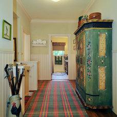 Farmhouse Hall by Adeeni Design Group