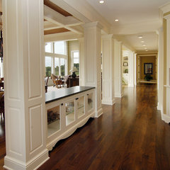 traditional hall by John Kraemer & Sons