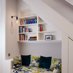 Hallway - small contemporary hallway idea in Kent