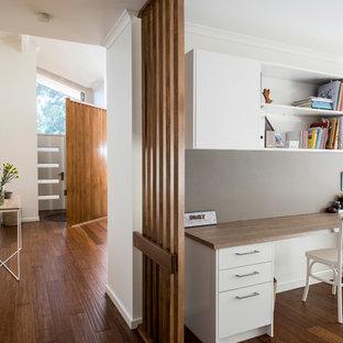 Wantirna Hallway and Study