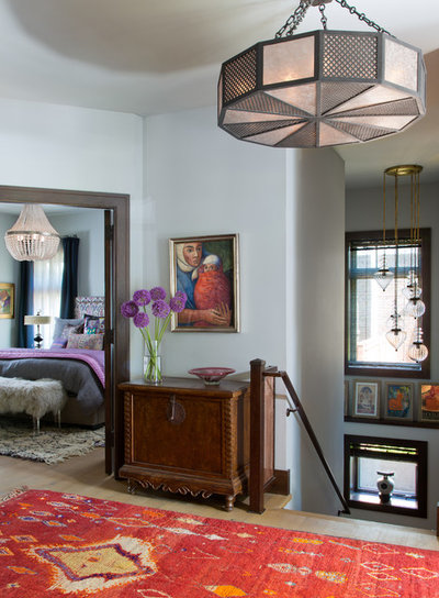 Eclectic Hall By Atelier Interior Design