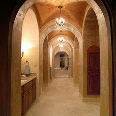 Mediterranean Hall by Alberto Jauregui Designs, Inc.
