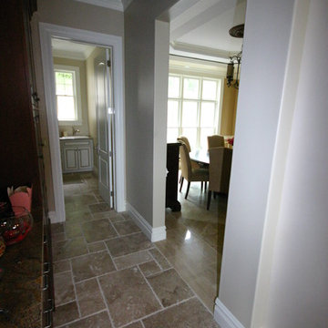 West Chester New Home Tile