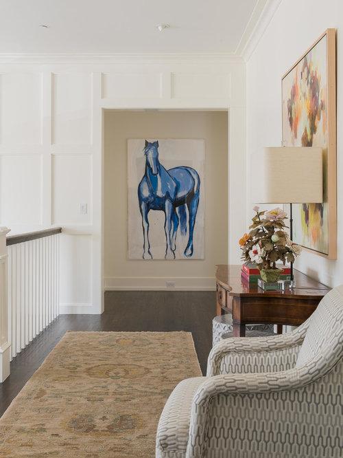 Horse themed living room