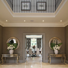 Traditional Hall by Alexander James Interiors