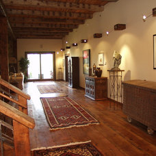 Traditional Hall by Legends West Reclaimed Lumber
