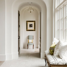 Transitional Hall by Thompson Custom Homes
