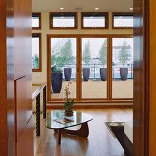 Modern Hall by William Duff Architects, Inc.