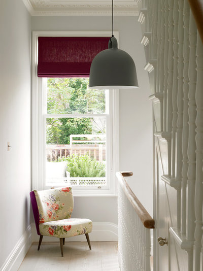Victorian Hallway & Landing by STEPHEN FLETCHER ARCHITECTS