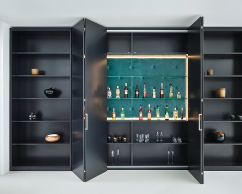 hausbar einrichten ideen design bilder houzz. Black Bedroom Furniture Sets. Home Design Ideas