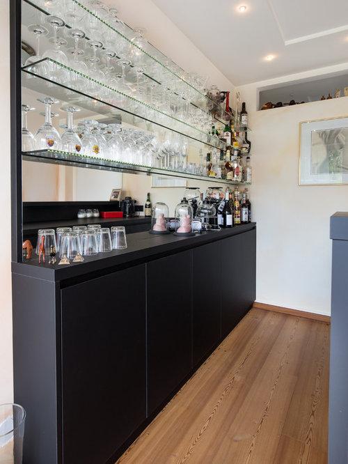 Bar de salon contemporain Cologne : Photos et idées déco de bars de ...