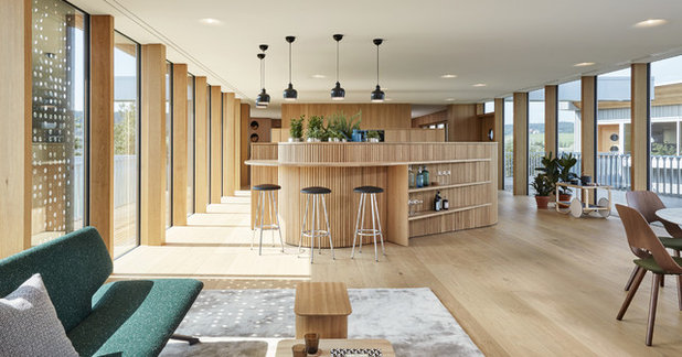 Scandinavian Home Bar by Bau-Fritz GmbH & Co. KG