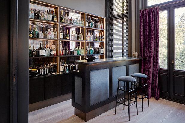 Modern Hausbar by Anja Lehne interior design