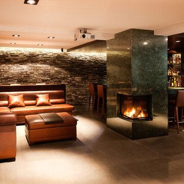 Umbau Einfamilienhaus - Lounge & Bar