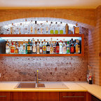 Basement Traditional Home Bar Toronto By Chic