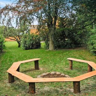Design ideas for a scandinavian landscaping in Esbjerg.