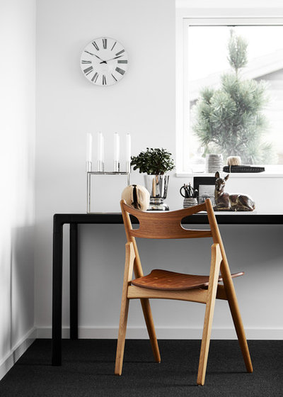 Skandinavisk Hjemmekontor by Mia Mortensen Photography